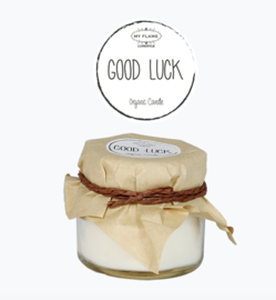 Soy candle mini good luck
