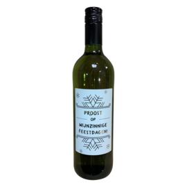 Witte wijn feestdagen