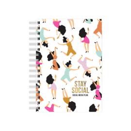 Notebook Stay Social
