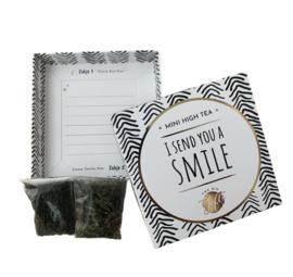 Mini high tea i send you a smile