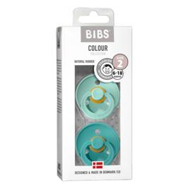Bibs duo speen 2 Turquoise mint