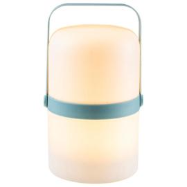 LED lantaarn ø14x25,4cm Blauw