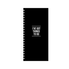 Notebook to do list - ive got things to do