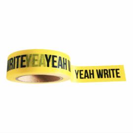 Washi tape yeah write
