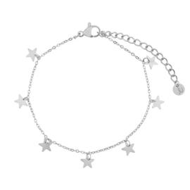 Armband a lot of stars zilver (WEB)