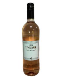 Rose wijn speciaal voor