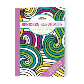 Senioren kleurboek - creatief kleuren