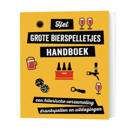 Grote bierspelletjes handboek