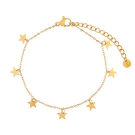 Armband a lot of stars goud (WEB)