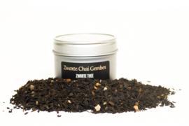 Zwarte thee Zwarte chai gember