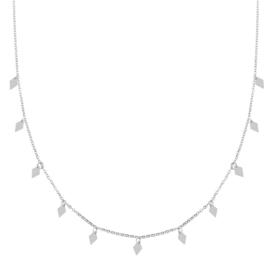 Ketting a lot of diamonds zilver (WEB)