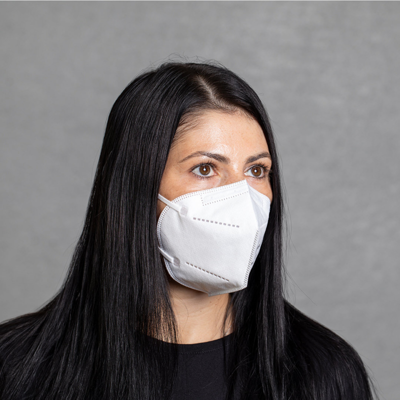FFP2 auto filtering masker 5-laags (50-pack)