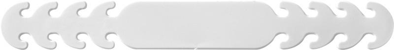 Gezichtsmasker band (wit) (per 5)