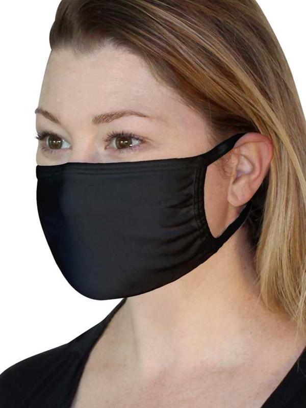 FOTL masker zwart 5 pack