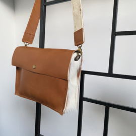 Happiness is in a small bag - leather bag