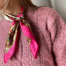 Scarf pink paradise