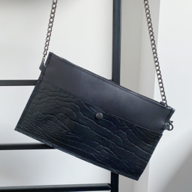 Time to party - leather bag