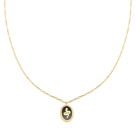 Snake alert - necklace black