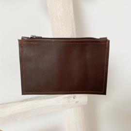 Money maker - leren portemonnee