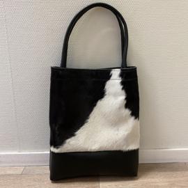 Throw it in the bag - zwart leer