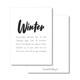 A4 poster | Winter