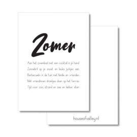 A4 poster | Zomer