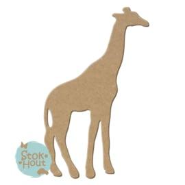 MDF figuur: Giraffe (M091)
