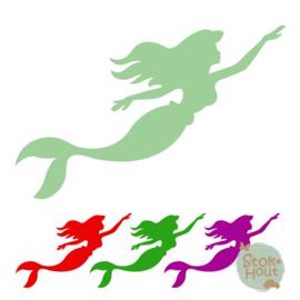 Muurfiguur: Ariel de Zeemeermin (M047)