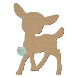 MDF figuur: Bambi (M034)