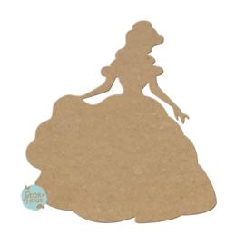 MDF figuur: Belle (M049)