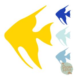 Muurfiguur: Maanvis (M032)