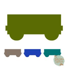 Muurfiguur: treinwagon (M080)