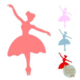 Muurfiguur: Ballerina (M197)