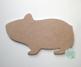 MDF figuur: Hamster (M106)