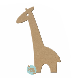 MDF figuur: Giraffe #2 (M135)