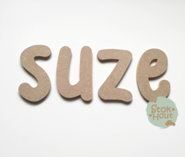 MDF Letters - Lettertype 'Kid'