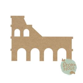 MDF figuur: Colosseum (M436)
