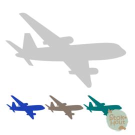 Muurfiguur: Vliegtuig #2 (M117)