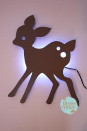 Muurlamp Hertje (bijvoorbeeld muisgrijs)