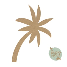 MDF figuur: Palmboom #2 (M446)