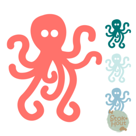 Muurfiguur: Octopus (M016)