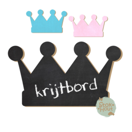 Krijtbord: Kroon Prins (M093) 20-50-75cm