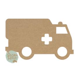 MDF figuur Ambulance (M472)