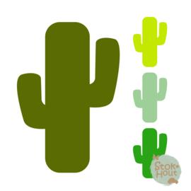 Muurfiguur: Cactus (M155)