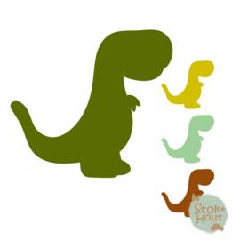 Muurfiguur: Dino #6 (M423)