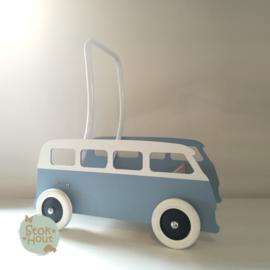 """Loopkarretje """"VW busje"""" nieuw (bijv. Zacht blauw) (ST086)"""
