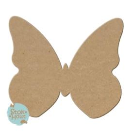 MDF figuur: Vlinder #1 (M082)