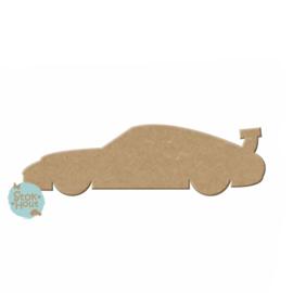 MDF figuur: Porsche (M123)