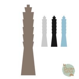 Muurfiguur: Taipei 101 (M447)