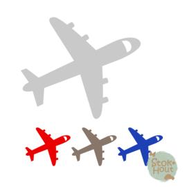 Muurfiguur: Vliegtuig #3 (M438)